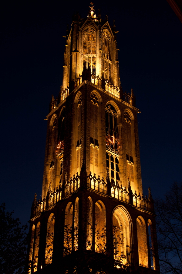 Lightshow  in Utrecht
